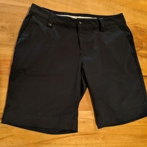 Under Armour Performance Black shorts size 12